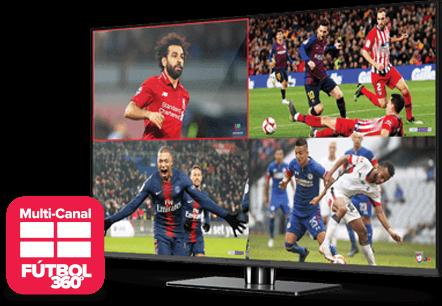 Multi Channel - Fútbol 360 - Muleshoe, TX - Ace Satellite - Distribuidor autorizado de DISH