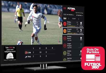 Guía de partidos - Fútbol 360 - Muleshoe, TX - Ace Satellite - Distribuidor autorizado de DISH
