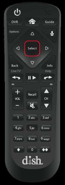 Control remoto de voz - Muleshoe, TX - Ace Satellite - Distribuidor autorizado de DISH