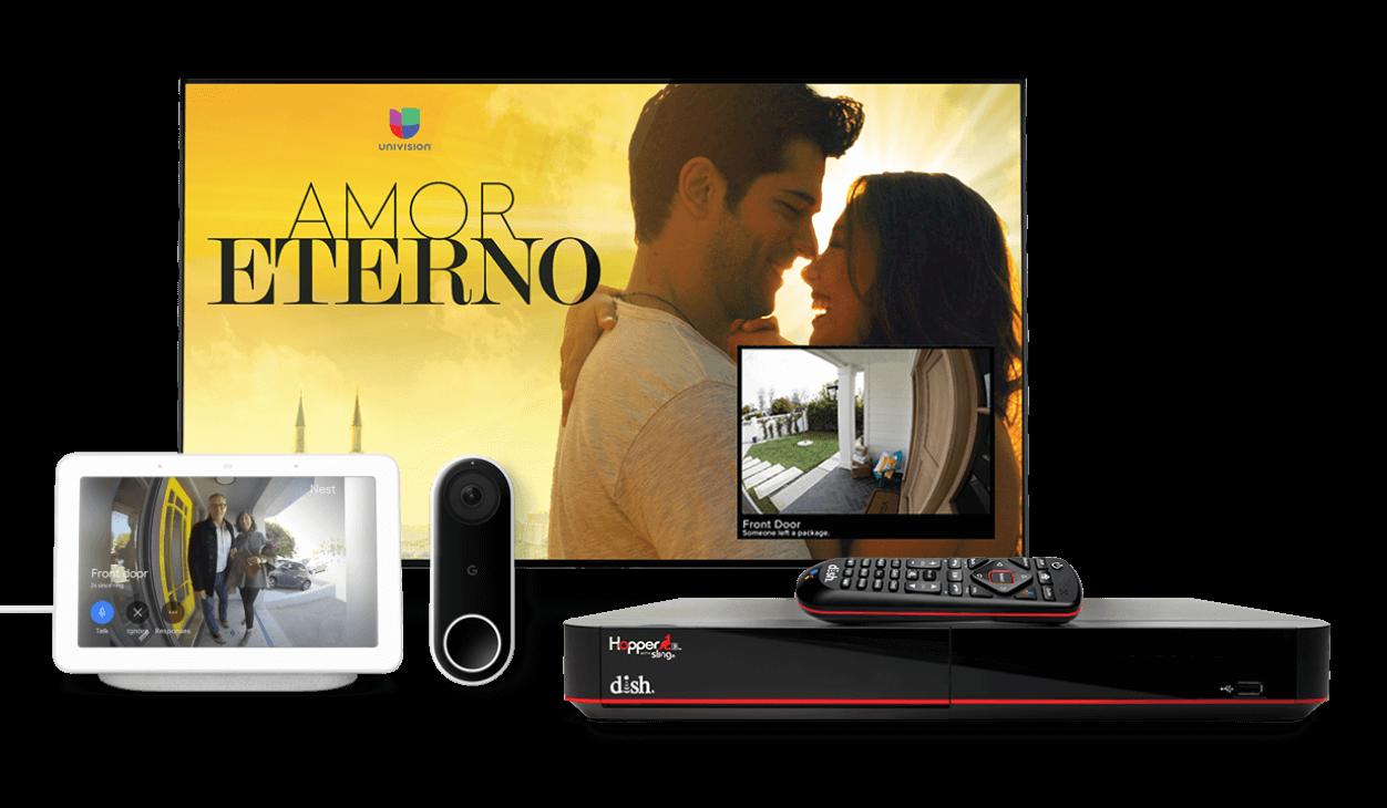 Cámbiate a DishLATINO con el DVR Hopper® 3 y te regalamos un timbre con cámara Google Nest Hello - Dish Latino